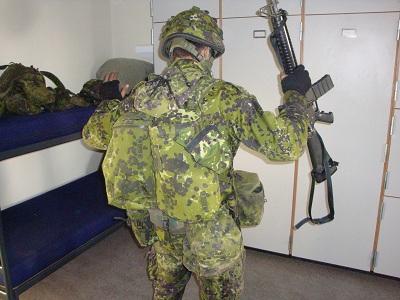 udrustning til soldater